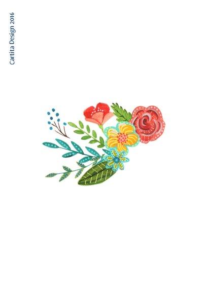 Moderne Bloemen Bos 2