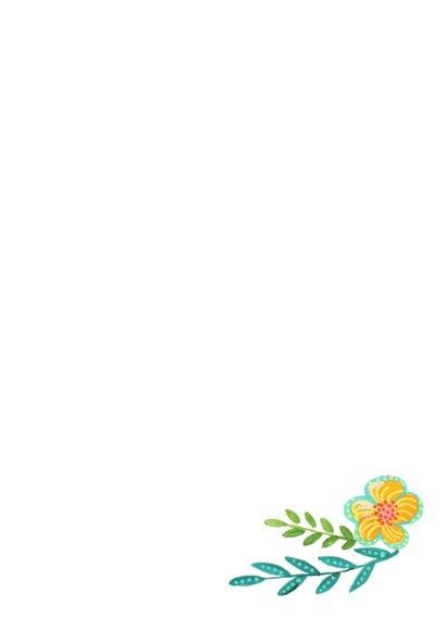 Moderne Bloemen Bos 3
