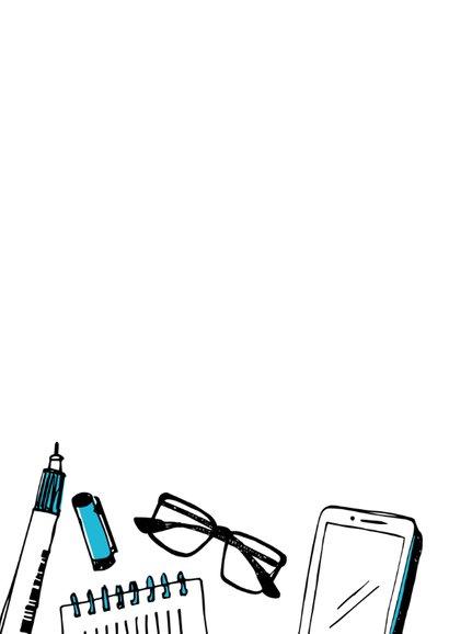 Nieuwe baan tekeningen - man  2