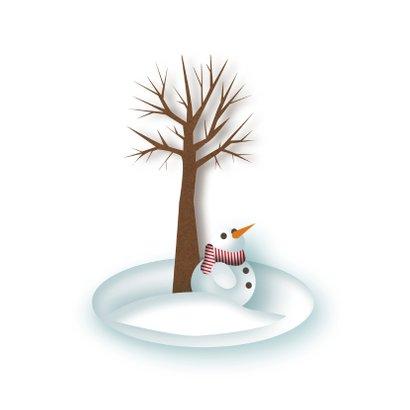Nieuwjaar - Sneeuw Witte Kerst - MW 2