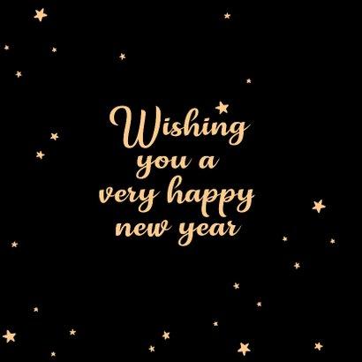 Nieuwjaarskaart Hello new year - SK 2