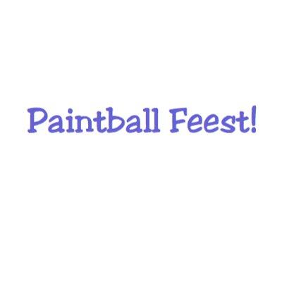 Paintball Feest met verf 3