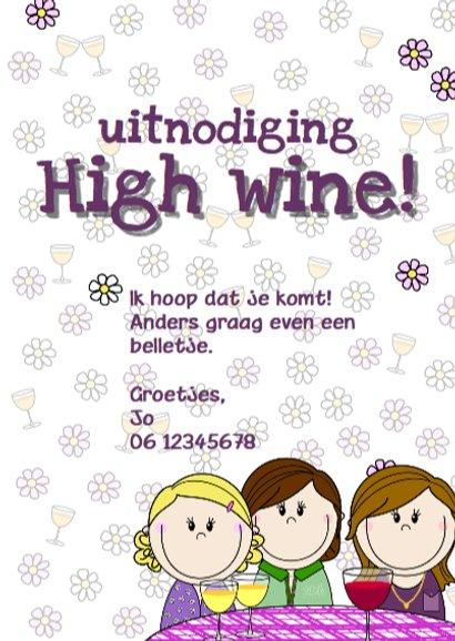 Party girls High wine 3