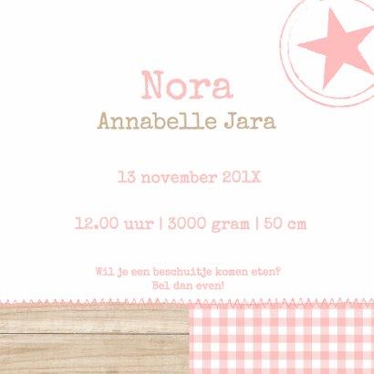 Pastel Hout Sterren Nora 3
