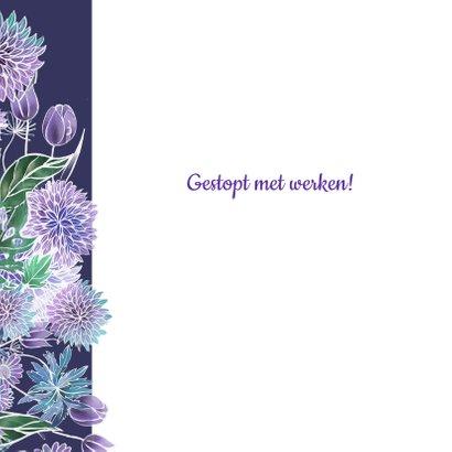 Pensioen hart bloemen 2