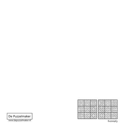 Puzzelkaart met twee sudoku's (I) 2