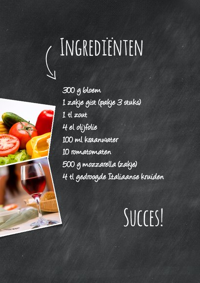 Recept voor pizza Margarita-isf 2