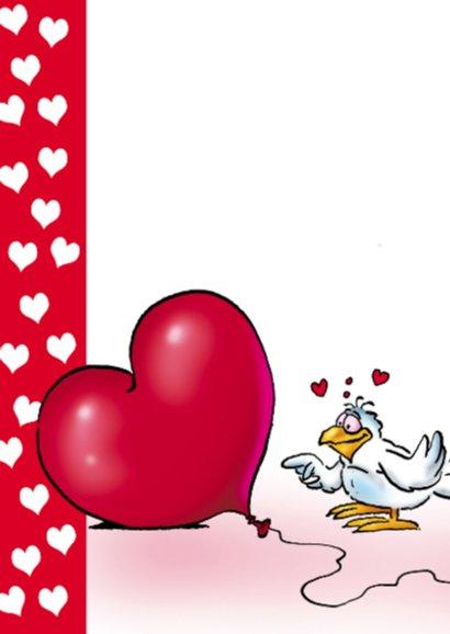 rocco valentijn 1 papegaai envelop hart 2