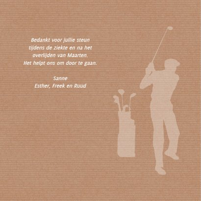 Rouw hobby golf 2