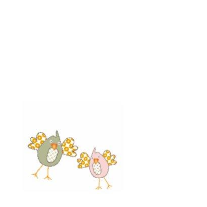 Samenwonen kaartje met vogeltjes 2