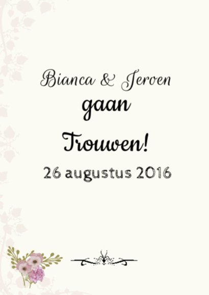 Save The Date hart tekst 2