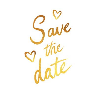 Save the date trouwkaart stijlvolle fotocollage 2