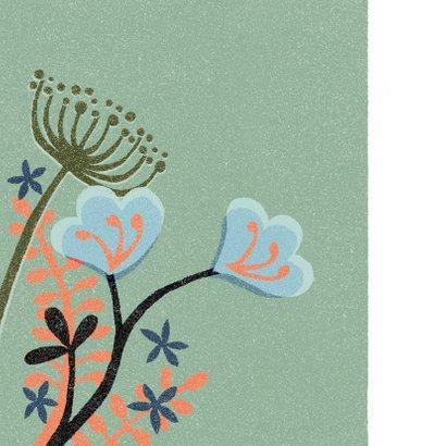 Sterkte medeleven denk aan je bloemen strak 2