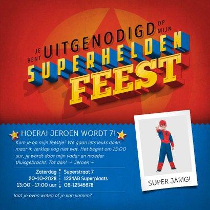 superhelden memory uitnodiging 3