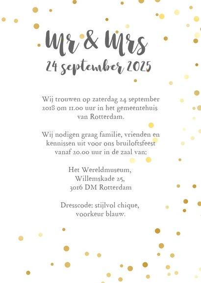 Trouwkaart - met foto mrs&ms (foto) 3