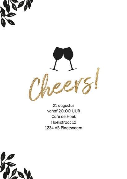 Uitnodiging 40 jaar verjaardag Cheers 2