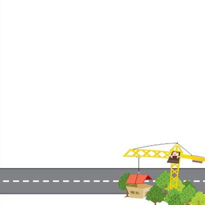 Uitnodiging auto vervoer voertuigen plattegrond 3