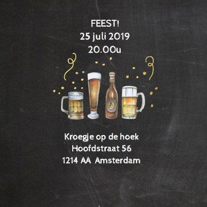 Uitnodiging bier foto 2