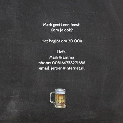 Uitnodiging bier foto 3