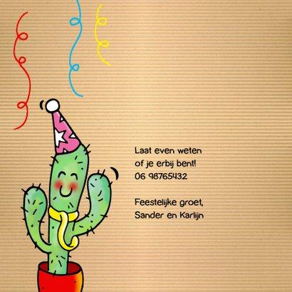 Uitnodiging Fiësta Cactus Mexico 2