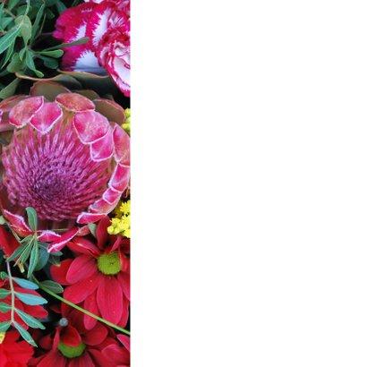 Uitnodiging jubileum bloem av 2