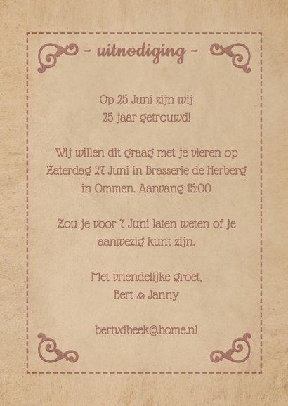 Uitnodiging Jubileum poster 1LS3 3