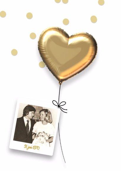 Uitnodiging jubileumhuwelijk 50 jaar 2