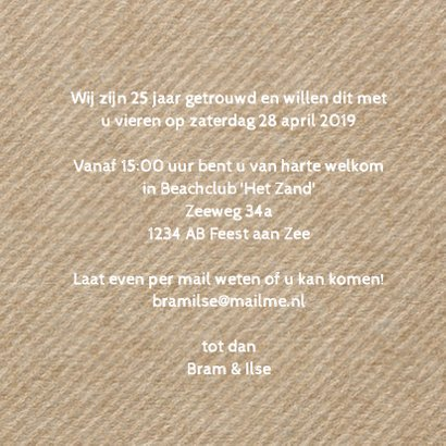 Uitnodiging kraft label - LO 3