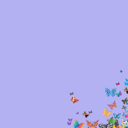 UItnodiging met vlinders 3