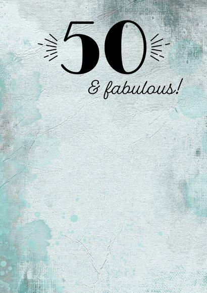 Uitnodiging turning 50 aquarel 3