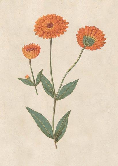 Uitnodiging voor tuinfeest met vintage bloemen 2
