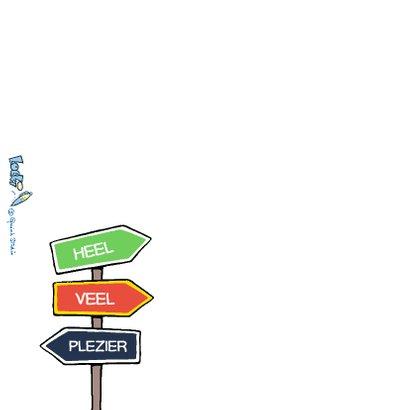 Vakantie Loeki strip autoreis - A 2