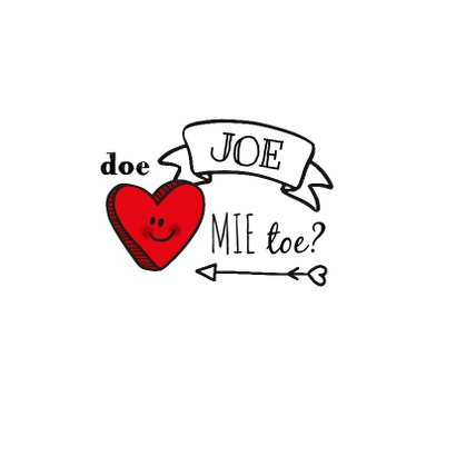 Valentijn lof joe handlettering 3