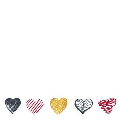 Valentijnskaart foto hartjes 2
