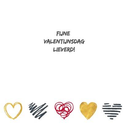 Valentijnskaart foto hartjes 3