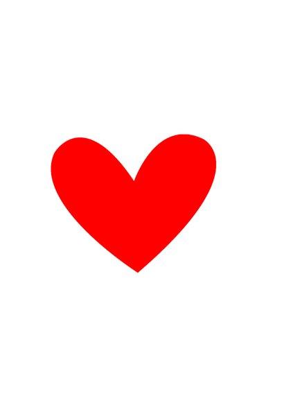Valentijnskaart foto met hartjes 2