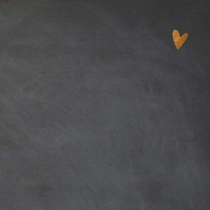 Valentijnskaart krijt - LO 3