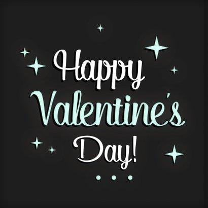 Valentijnskaart sterren Letters  2