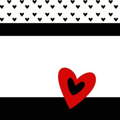 Valentijnskaart valentijns hart 2