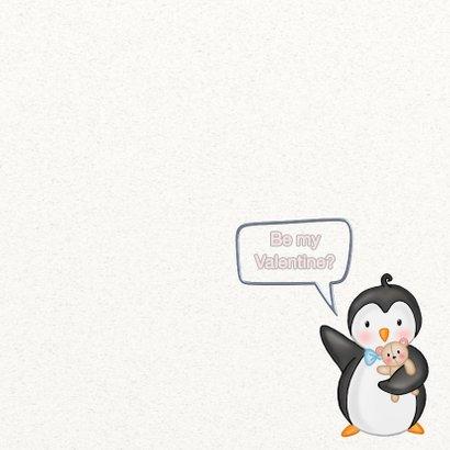 Valentijskaart pinguins - TJ 3