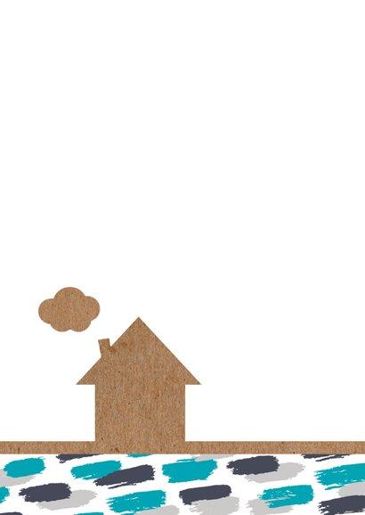 Verhuiskaart verfstrepen en huis 2