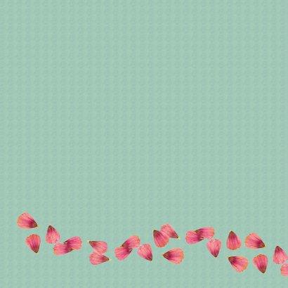 Verjaardag bloemen hart - SV 2