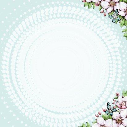 Verjaardag bloesem vlinders - IH 3