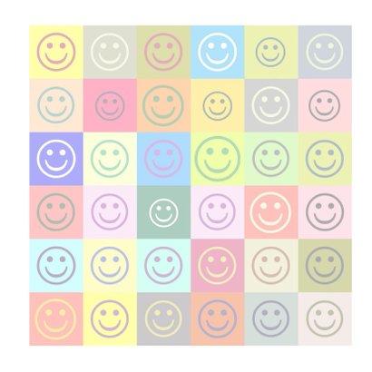 Verjaardag colorful smileys IW 3