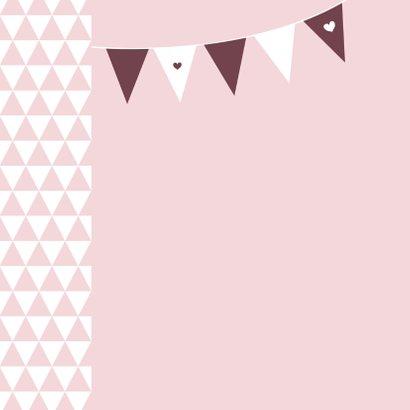 Verjaardag - driehoek slinger 2