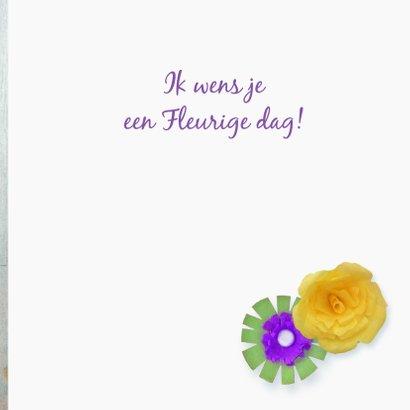 Verjaardag Fleurige dag 3