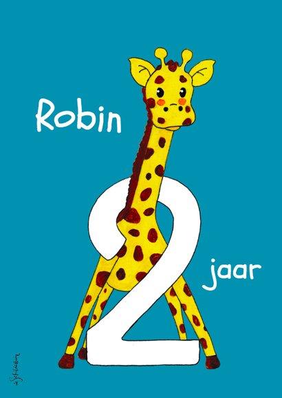 Verjaardag kind 2 jaar giraf - HR 2