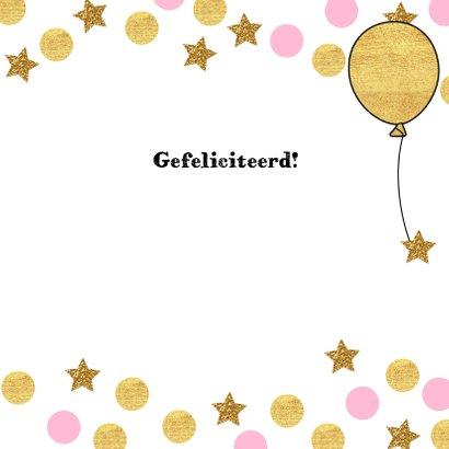 Verjaardag lief giraffe ballon 3