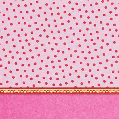Verjaardag Retro Poesje Roze 2