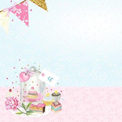 Verjaardag stolp taartjes 2